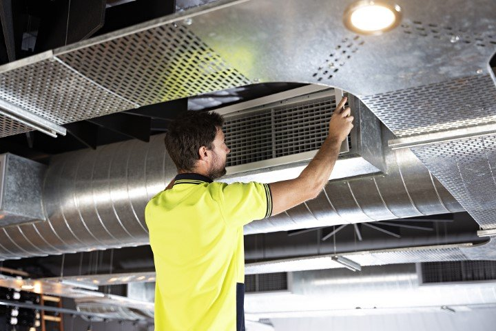 Industrial Air Conditioning ducts