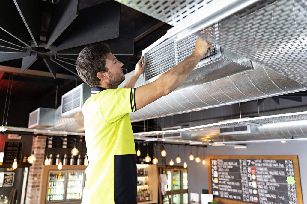 Ducted Air Conditioner Servicing